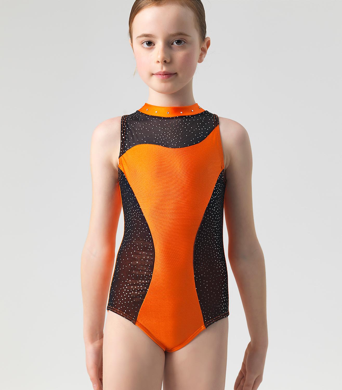 Παιδικό Κορμάκι Ενόργανης Γυμναστικής Λύκρα Με Πετράδια Στον Λαιμό ... 595e081b165